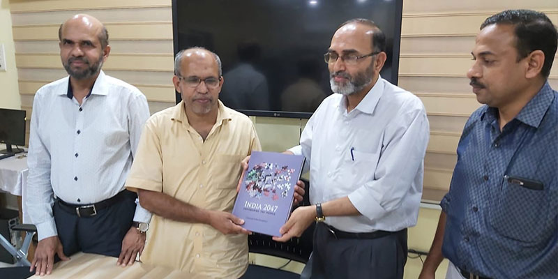 Introduction of India2047 Project at Islamic Chair, University of Calicut